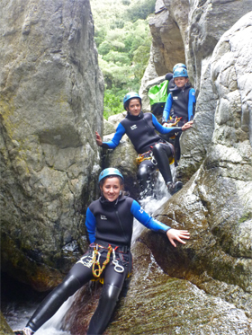 Canyoning à Canet