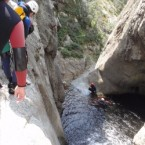 Pratique du canyoning à Ceret !