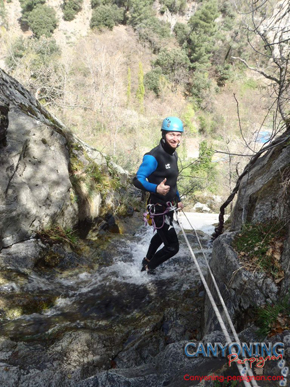 canyoning du Saint Vincent